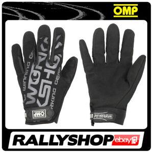 OMP WORKSHOP Karthandschuh Handschuhe Professionell  Motorsport Technik