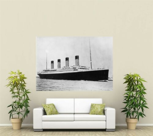 The Titanic Giant 1 Piece Wall Art Poster O119