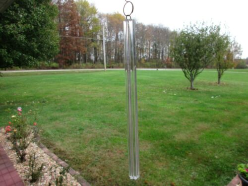"Chandelier Glass Rod 5.5/"" Part  Stick Pendant 6 Lobes With Hanger Hook"