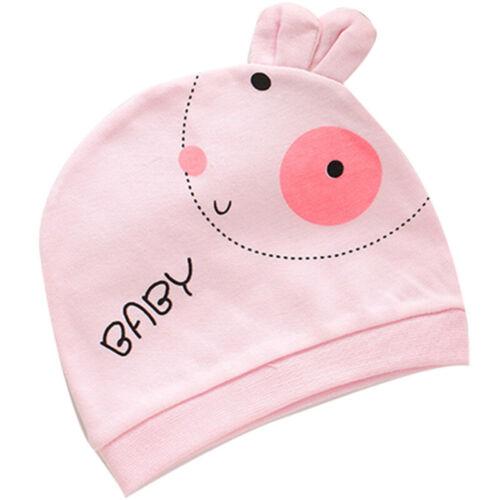 Enfants Bébé en Coton Doux Bonnet Fille Garçon Tricot Chapeau Toddler Infant Newborn chaud Cap