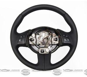Tuning-Lenkrad-Lederlenkrad-Sportlenkrad-Fiat-500-312-perforiert-glatt-Kauf