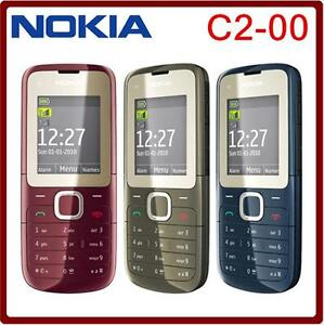 nokia c2 00 c2 2g dual sim phone fm bluetooth mp3 mp4 player gsm 900 rh ebay com Nokia C2- 06 Nokia C2 00 Bat