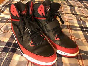 f1d76eca0930b1 Nike Air Jordan Flight 97 654265-002 Black Red Men s Size 13.5
