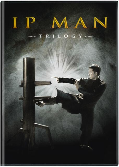 Ip Man Trilogy (DVD) Ip Man (2008), Ip Man 2 (2010), Ip Man 3 (2015), Bonus Disc