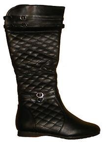 newest d371d 06080 Details zu Hohe Schwarze Stiefel ohne Absatz Größe 36 - Schuhe,  Damenstiefel, Boots - NEU