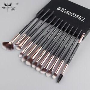 Anmor-Pro-Makeup-Brushes-Set-12-Pcs-lot-Eye-Shadow-Blending-Eyeliner-Eyelash-Eye