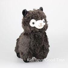 "13"" Black ALPACA Alpaca Plush Toy Soft Stuffed Animals Alpacasso Arpakasso Doll"