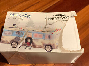DEPT 56 NATIONAL LAMPOON CHRISTMAS VACATION COUSIN EDDIES RV SNOW VILLAGE 403073