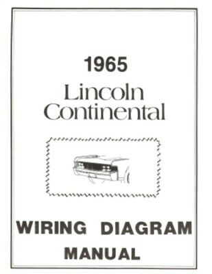 lincoln 1965 continental wiring diagram manual 65 | ebay lincoln continental convertible top wiring diagram  ebay