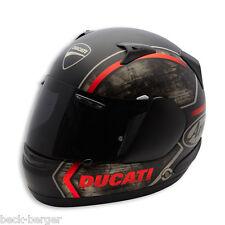 DUCATI Arai Quantum THUNDER ´14 Helm Helmet schwarz matt NEU !!