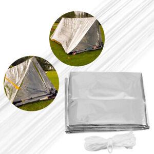 Camping-Emergency-Tent-Tarp-Awnin-Shade-Sleeping-Bag-Survival-Reflective-Sheet