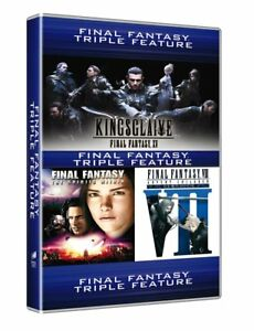 Dvd-Final-Fantasy-Movie-Collection-3-Dvd-NUOVO