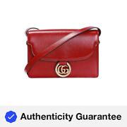 Gucci GG Ring Shoulder Bag 589474 1DB0G 6638