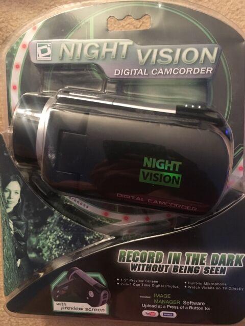 Sakar Night Vision Digital Camcorder Video Camera Recorder HD1080P Camera - NEW!