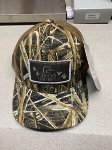 Ducks Unlimited Camo Mesh Hat Cap Adjustable Mossy Oak New Ebay