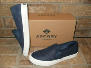 NEW SPERRY SEASIDE WASHABLE NAVY