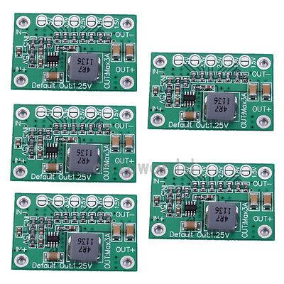 5x 5-16V To 1.25V/1.5V/1.8V/2.5V/3.3V/5V Step-Down Power Module 3A Adjustable