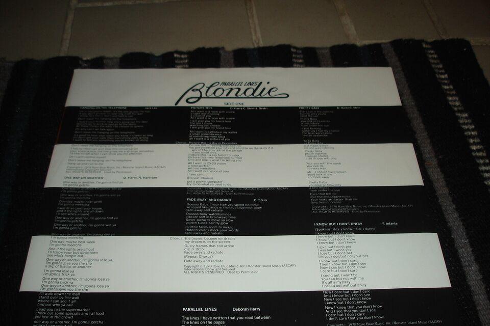 LP, Blondie, Parallel Lines