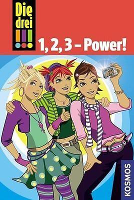 Die drei !!! 1, 2, 3 - Power! Band 1-3 von Maja Vogel und Henriette Wich...