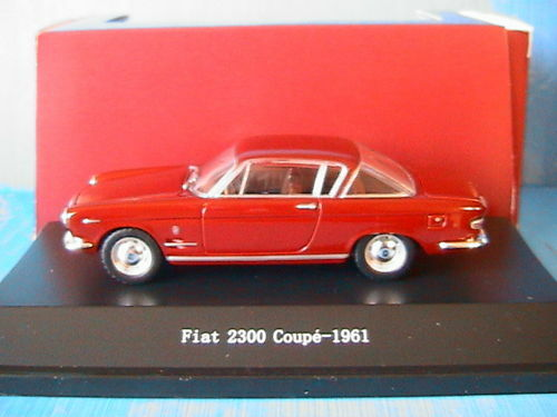 FIAT 2300 COUPE 1961 RED CORSA STARLINE 521048 1 43 red red red ITALIA