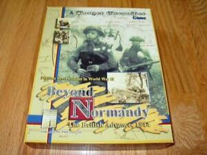 Details about Avalanche Press 2004 - Beyond Normandy - Panzer Grenadier  Game (UNPUNCHED)