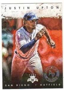 2016-Panini-Diamond-Kings-Artist-039-s-Proof-Silver-25-85-Justin-Upton-Padres