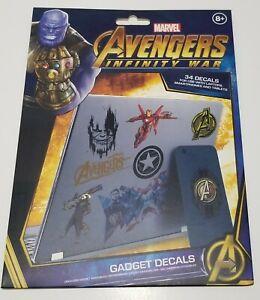 Marvel Inf War Gadget Decals