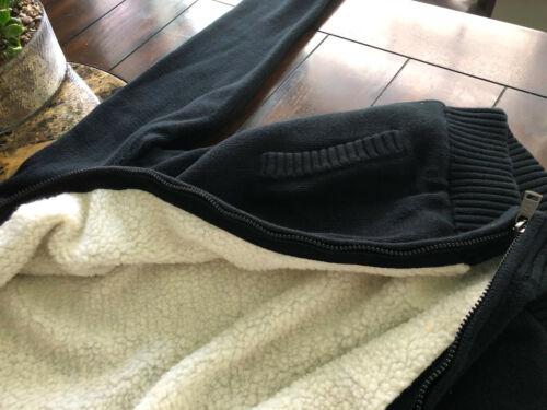 medio al suéter Chaps Bnwt 00 tamaño forrado 90 Sherpa chaqueta Mens por menor FYOwqgxw