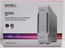 IOCELL Mydisk Solo External Hard Drive Enclosure USB 2.0 For SATA Drive NIB