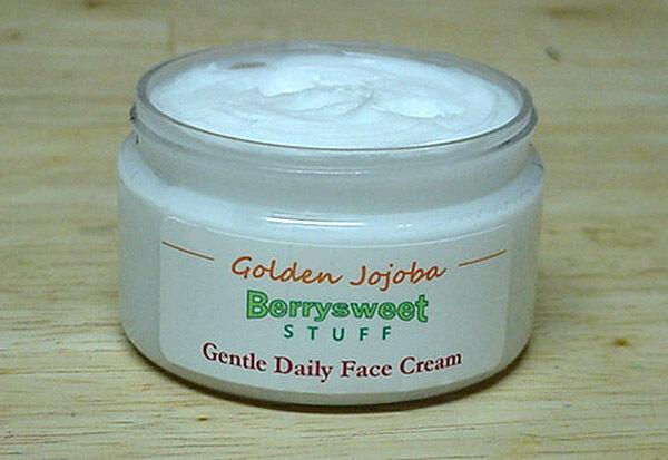 Gentle Daily Face Cream - Skin Moisturizer 4 Oz - Natural Handmade Facial Lotion