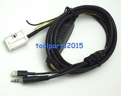 iPhone 5 5S 6S plus AUX Adapter Cable For Mercedes Comand APS NTG Audio 20 30 50