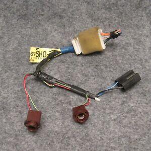 1994 Mazda MX-6 Dashboard Ashtray & Cigarette Lighter Wiring Harness OEM  50403 | eBayeBay
