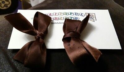 Hair Accessories Brown Save 50-70% Generous Handmade Hair Bows Clothing, Shoes & Accessories