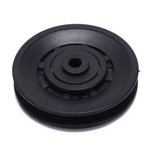 1pc-90mm-Black-Bearing-Pulley-Wheel-Cable-Gym-Equipment-Part-Wearproof-gym-kitFU