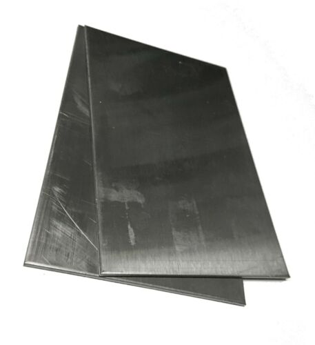 "2pc 16gauge .060/"" Sheet Metal Welding Test 4/""x6/"" 304 Stainless Steel Plates"