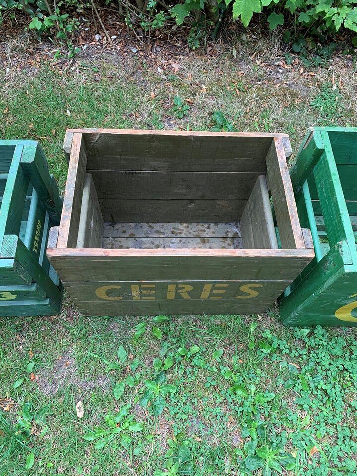Gammel Ceres ølkasse