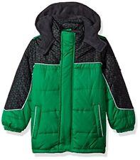 d3129992842a iXtreme Toddler Boys  Tonal Print Snowsuit W gaiter Blue 2t