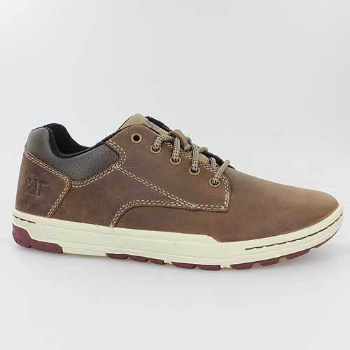 CATERPILLAR zapatos DECADE COLFAX marrón DARK marrón LEDER P716677