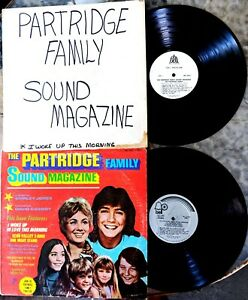 PARTRIDGE-FAMILY-Test-Pressing-and-LP-SOUND-MAGAZINE-Bell-6064