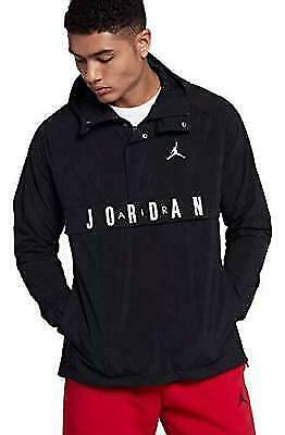 bb5e7ff9f4 Nike Air Jordan Wings Anorak Wind Jacket Pullover Black White 942729  X-large for sale online | eBay