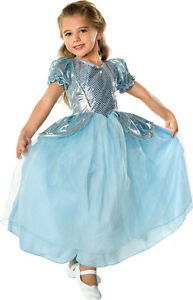 Beautiful-Cinderella-Palace-Princess-Aqua-Ball-Gown-Polyester-Costume-Rubies