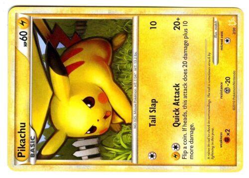 PROMO POKEMON CARD KIT TRAINER RAICHU N°  2//30 PIKACHU Mint Condition