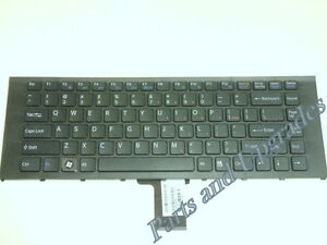 NEW for Sony Vaio VPCEA VPC-EA PCG61317L PCG-61317L White US Keyboard W//Frame