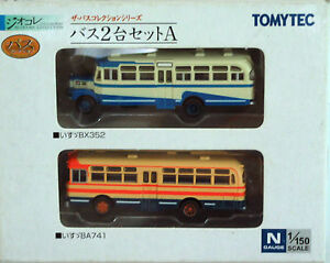 1/150 N scale TOMYTEC The Bus Collection (A)