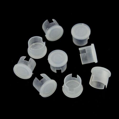 100pcs couvercles en plastique bouchon anti-poussière pour BNC femelle de protection RF connecteur adaptateur