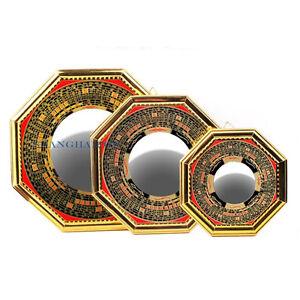 i ging feng shui chinesisch bagua pa kua spiegel tai chi konkav convex yin yang ebay. Black Bedroom Furniture Sets. Home Design Ideas