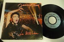 JEANNE MAS 45T LA BETE LIBRE/ LOIN D'ICI. EMI FRANCE 1735237.