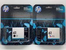 Genuine HP 61 Tri-Color Color Ink Cartridge CH562WN for HP Deskjet 1000 1050