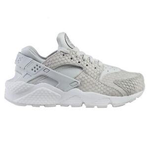 Nike Air Huarache Run Premium Womens 683818-014 Platinum Snakeskin ... 4f599bf1f