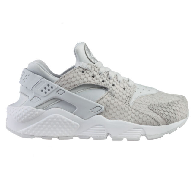 sports shoes 0701f 1b103 Nike Air Huarache Run Premium Womens 683818-014 Platinum Snakeskin Shoes  Size 8 for sale online | eBay